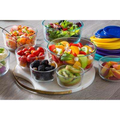 Simply Store Love 18-Piece Glass Food Storage Set
