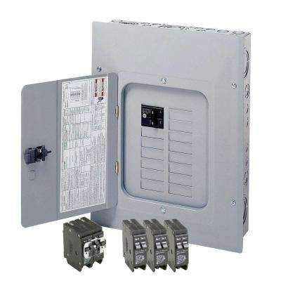 125 Amp 12-Space 24-Circuit Type BR Main Breaker Load Center Value Pack (Includes 4 Breakers)