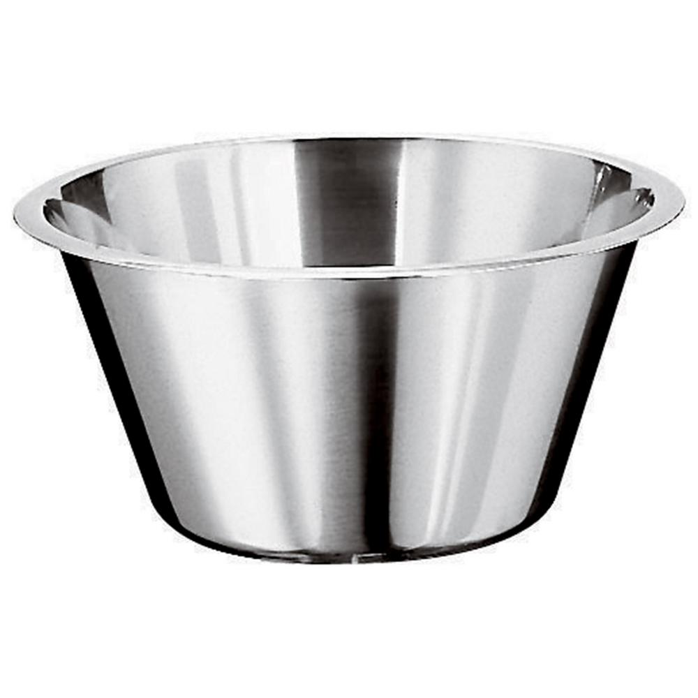 3-1/4 Qt. Stainless Steel Flat-Base Mixing Bowl