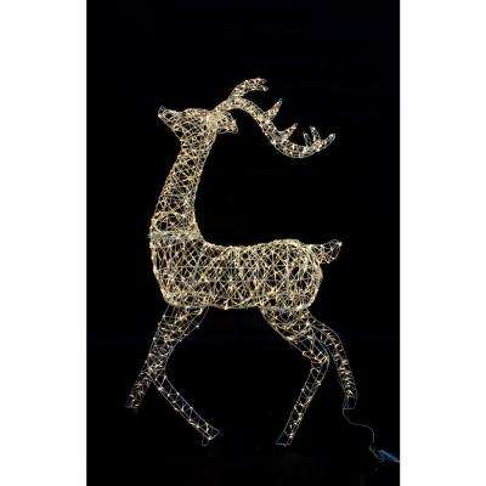 60 in. Christmas Warm White Micro Dot Deer