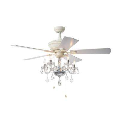 Havorand II 52 in. Indoor White Ceiling Fan with Light Kit