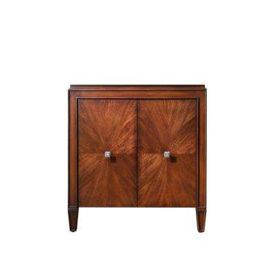 Brentwood 31 in. W Vanity Cabinet Only in New Walnut