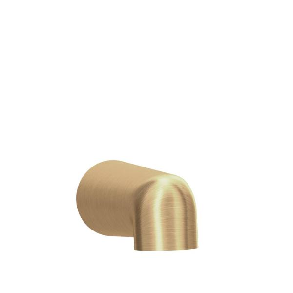 Dia Non-Diverter Tub Spout in Brushed Bronze