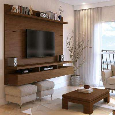 City Nut Brown Entertainment Center