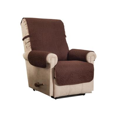 Belmont Leaf Secure Fit Recliner Coffee Furniture Cover Slipcover