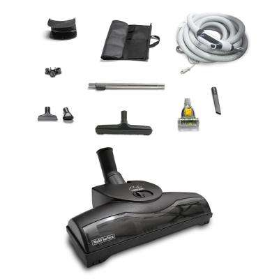 35 ft. Central Vacuum Kit with Turbo Nozzles and 1-Year Warranty