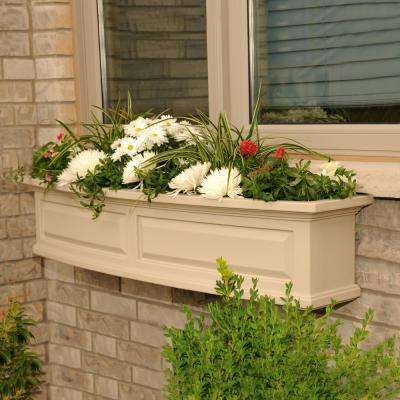 Superbe Nantucket Clay Plastic Window Box
