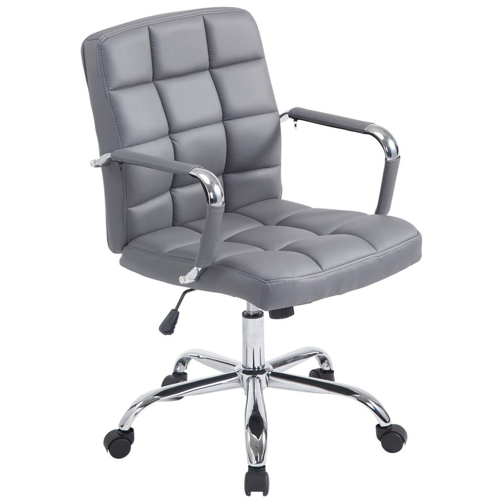 Poly and Bark Grey Manchester Office Chair