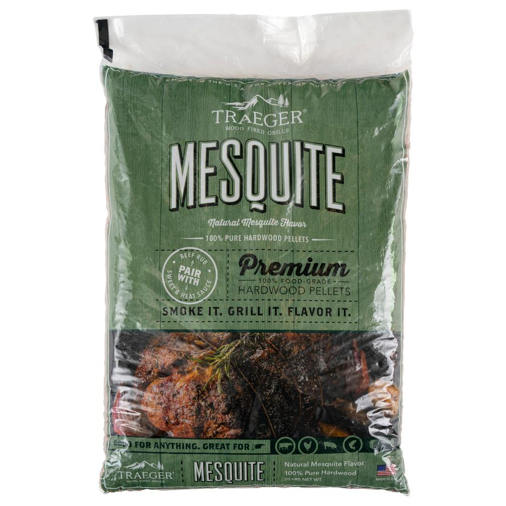 Traeger 20 lb. Mesquite Wood Pellets