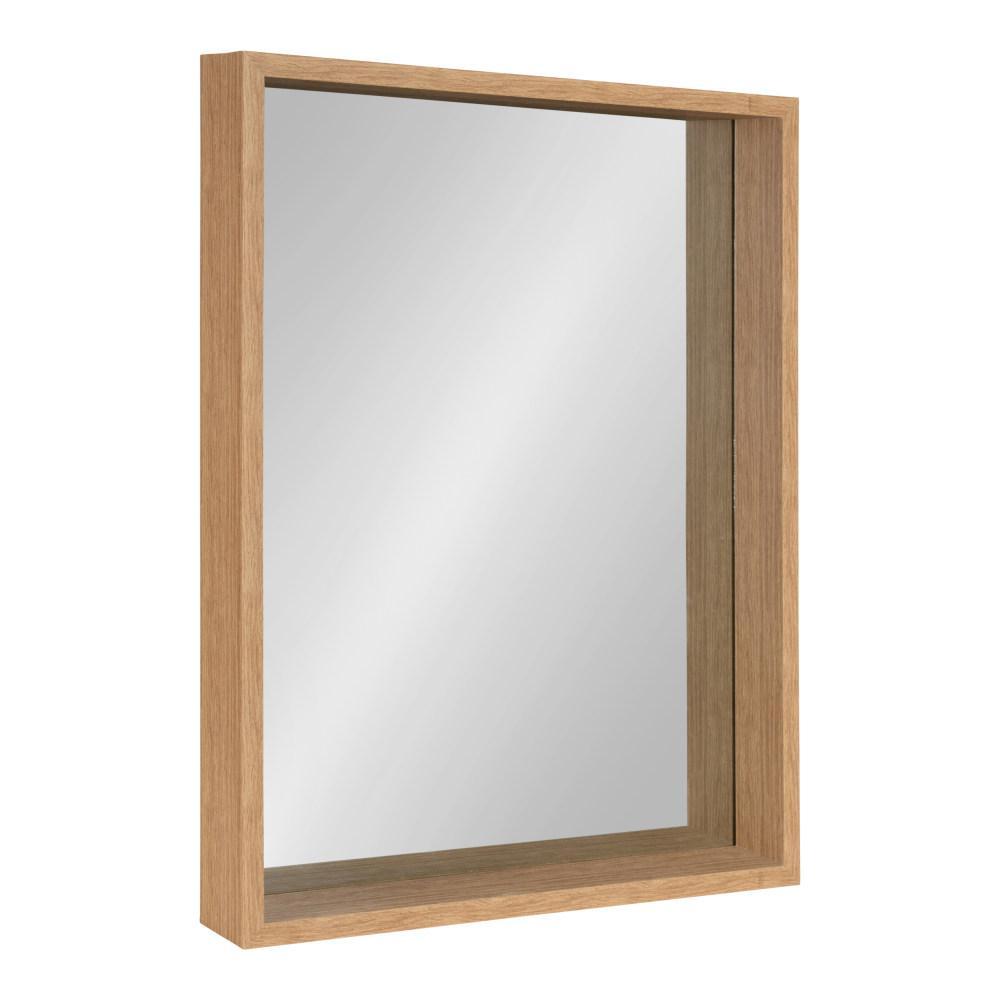 Rockwood Rectangle Natural Wall Mirror