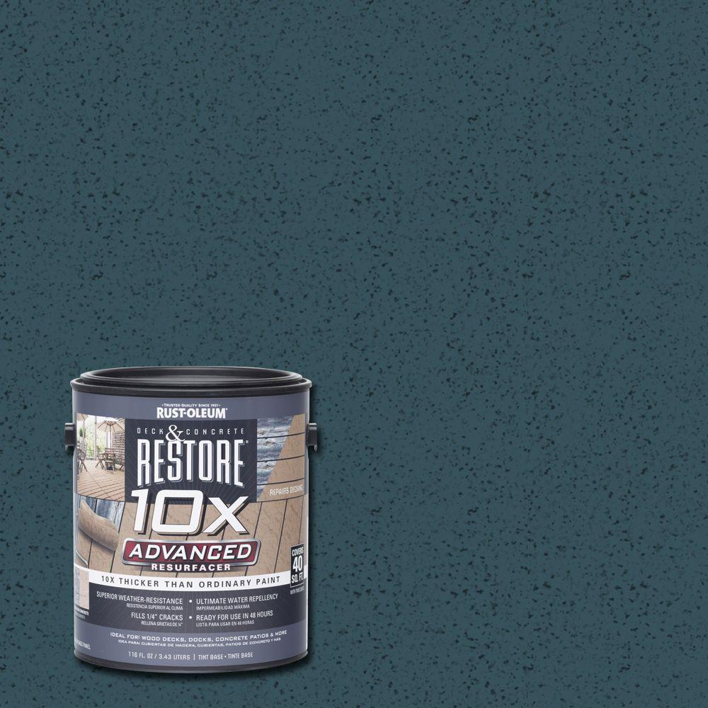 Rust-Oleum Restore 1 gal. 10X Advanced Cobalt Deck and Concrete Resurfacer