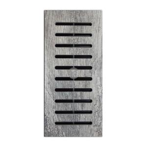 Made2Match MARAZZI Montagna Dapple Gray Porcelain 5 in. x 11 in. Floor Vent Register