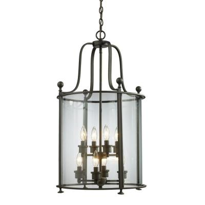 Lawrence 8-Light Bronze Incandescent Ceiling Pendant