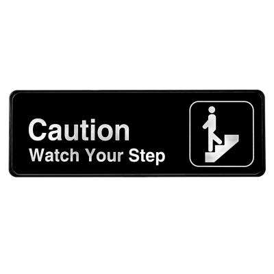 9 in. x 3 in. Caution - Watch your Step Sign
