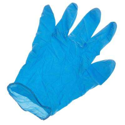 Nitrile Powdered Work Gloves
