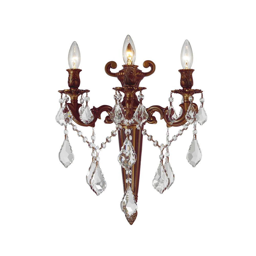 Worldwide Lighting Versailles Collection 3 Light French