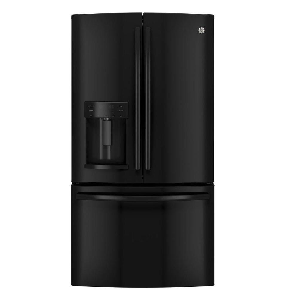 25.8 cu. ft. French Door Refrigerator in Black