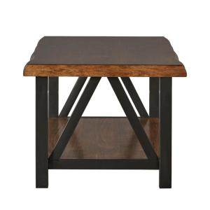 Barnard Brown Live Edge Cocktail Table