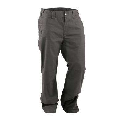 Men's 32 in. x 31 in. Slate Cotton, Polyester and Spandex Flex 180 Ripstop Pants