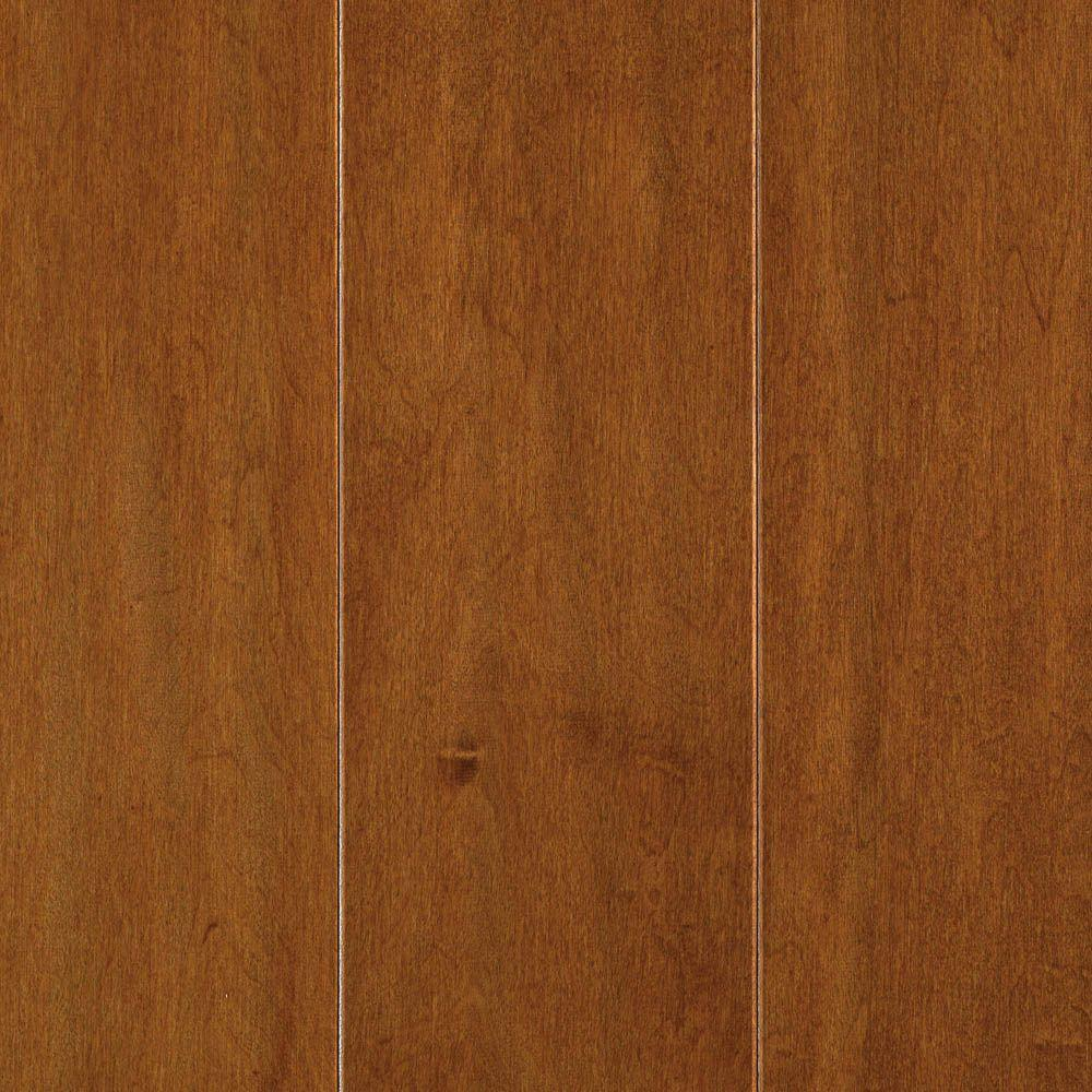 Mohawk light amber maple 3 8 in t x 5 in w x random for Mohawk hardwood flooring