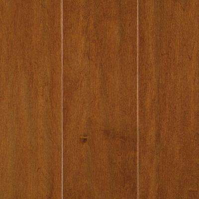 Light Amber Maple 3/8 in. T x 5 in. W x Random Length Soft Scraped Engineered Hardwood Flooring (23.5 sq. ft. / case)