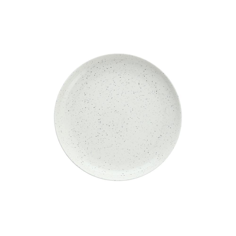 Camp Melamine Dinnerware & Serveware (Dinner Plates (Set of 6), White Speckle)