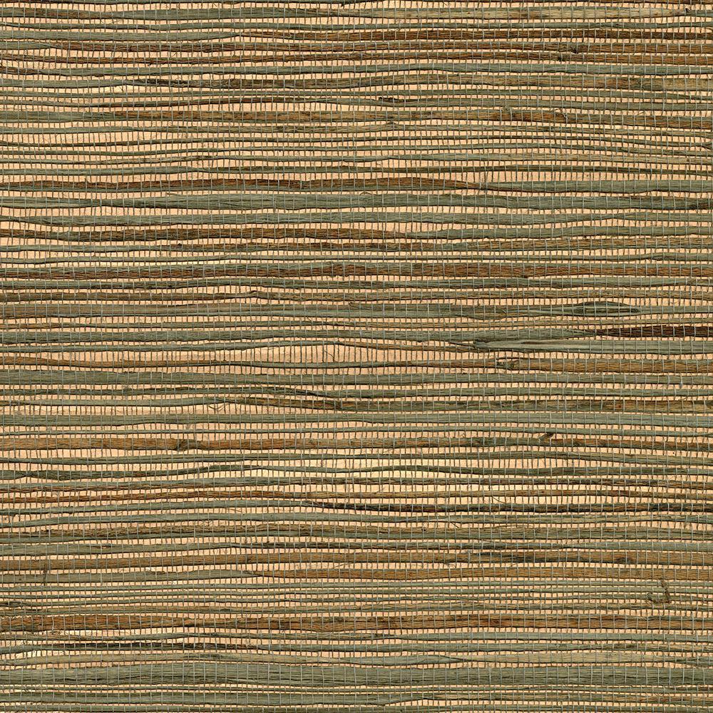 72 sq. ft. Ozamiz Copper Grass Cloth Wallpaper