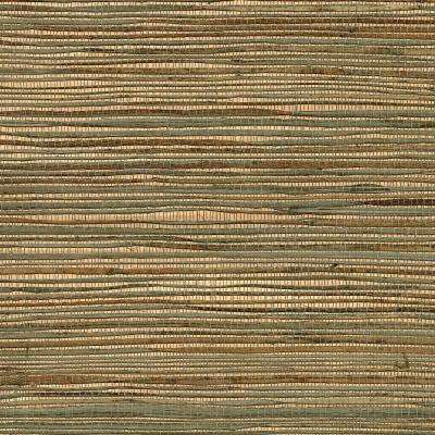 Ozamiz Copper Grasscloth Peelable Roll (Covers 72 sq. ft.)