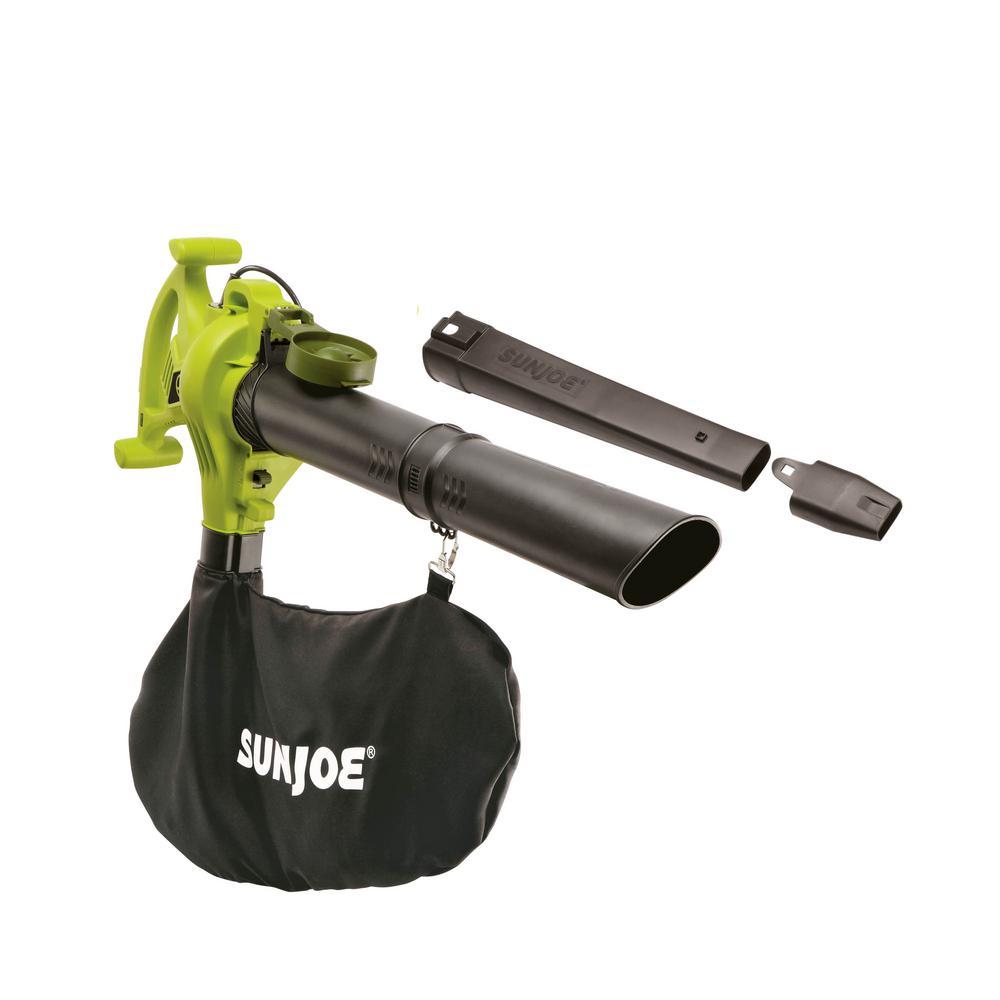 240 MPH 300 CFM 13 Amp Electric Handheld 3-in-1 Leaf Blower/Vacuum/Mulcher