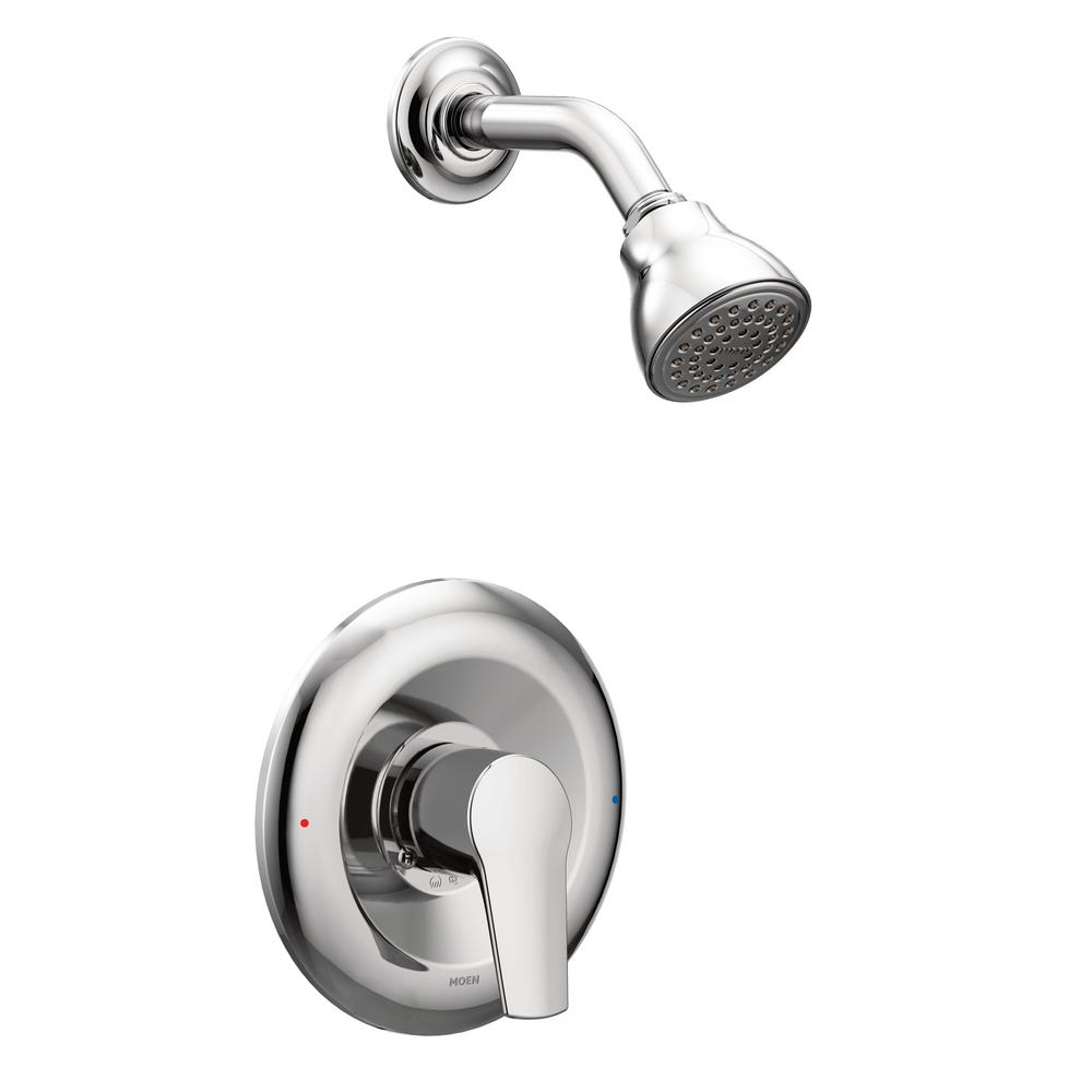 Method Single-Handle 1-Spray PosiTemp Shower Faucet Trim Kit Only in Chrome