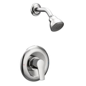 MOEN Method Single Handle 1 Spray PosiTemp Shower Faucet Trim Kit Only In  Chrome (Valve Not Included) T2802   The Home Depot