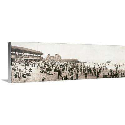 """Manhattan Beach, C.1902"" by The Granger Collection Canvas Wall Art"