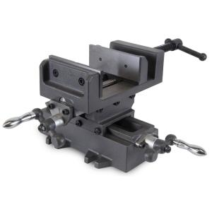 Wen 4.25 inch Compound Cross Slide Industrial Strength Benchtop and Drill Press Vise by WEN