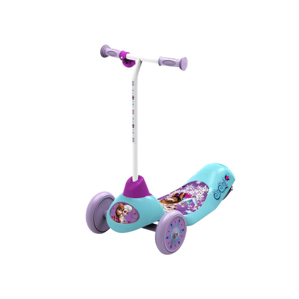 Disney Frozen Safe Start 3-Wheel Electric Scooter