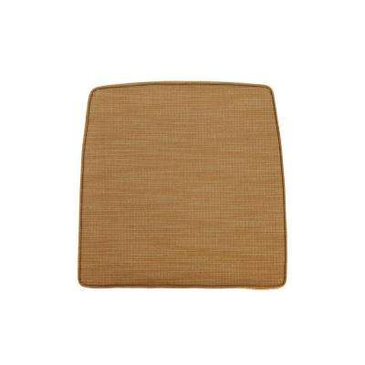 Greystone Replacement Outdoor High Dining Chair Cushion in Toffee