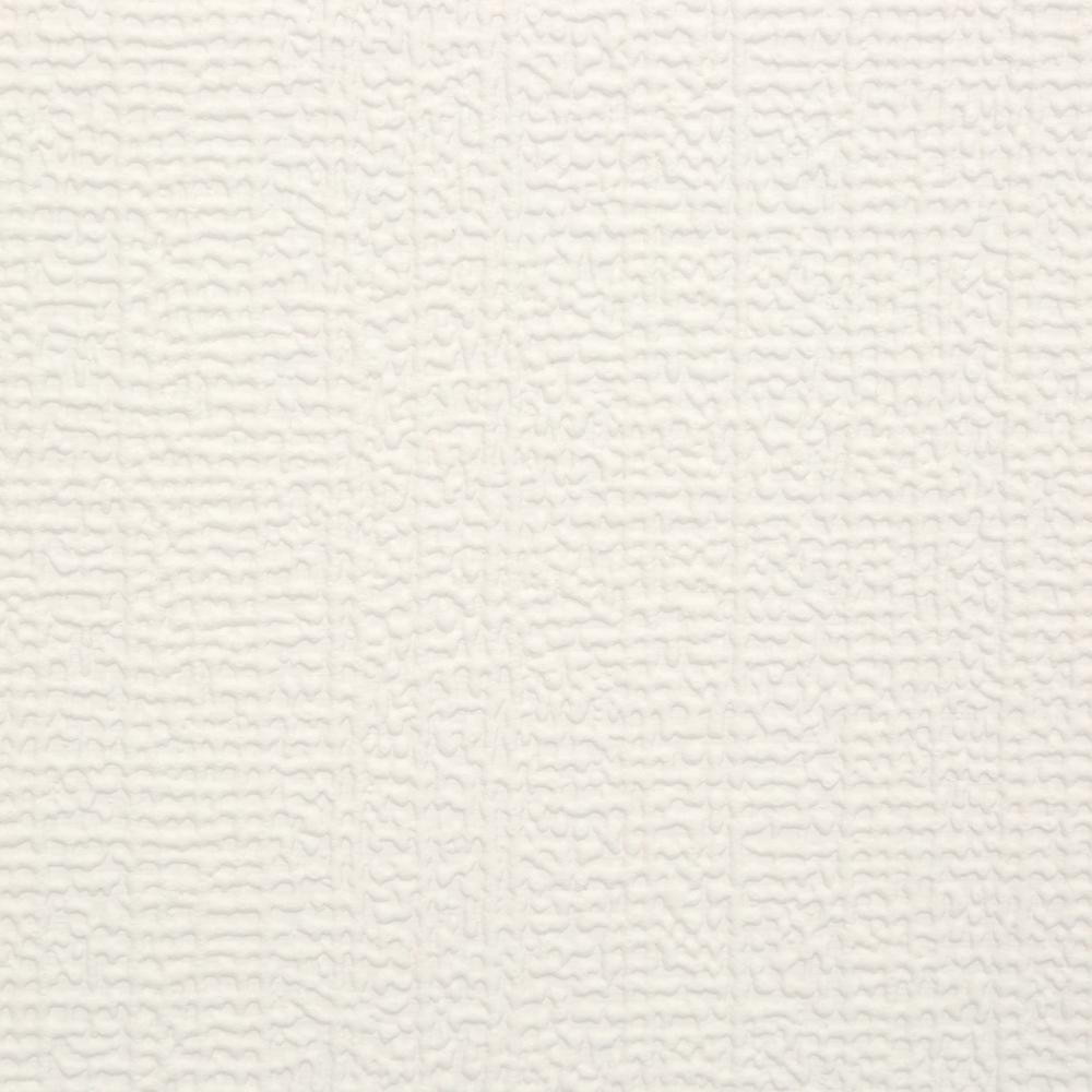 Ideal Graham & Brown Linen Paintable White Wallpaper-12026 - The Home Depot OH71