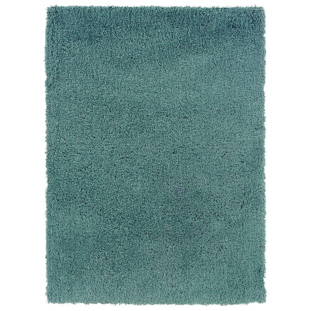 Linon Home Decor Confetti Turquoise 1 Ft. 10 In. X 2 Ft
