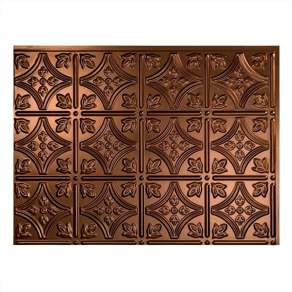 Traditional 1 18 in. x 24 in. Oil Rubbed Bronze Vinyl
