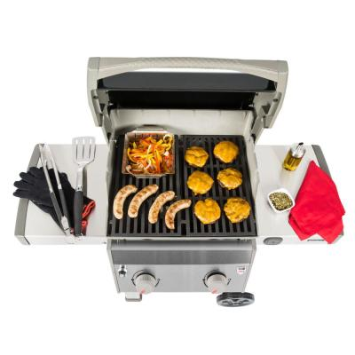 Spirit II E-210 2-Burner Propane Gas Grill in Black