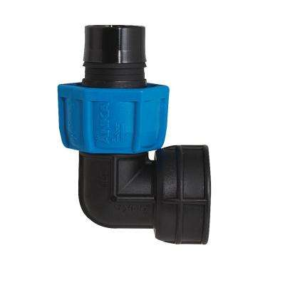 1-1/4 in. Fiberglass Reinforced Nylon 90-Degree FNPT x Barb Elbow
