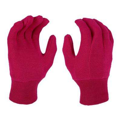 Women's Large Garden Jersey Gloves (3-Pack)