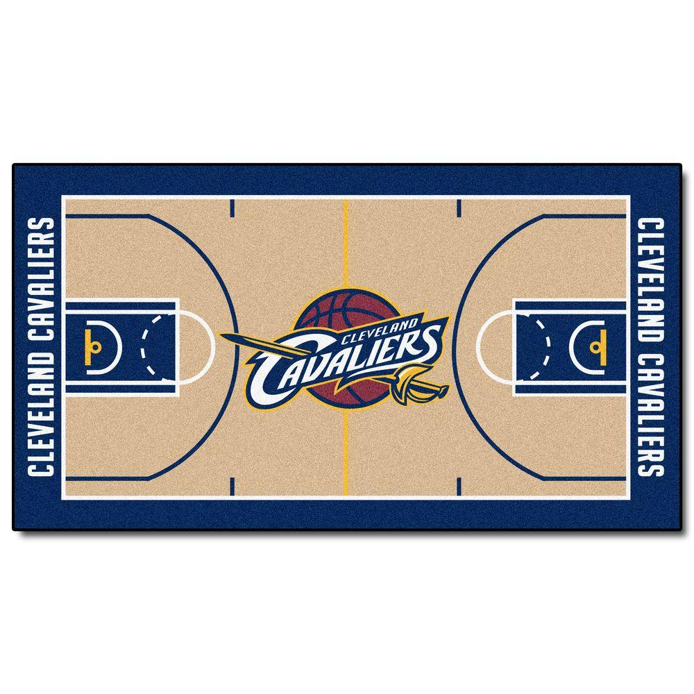 FANMATS Cleveland Cavaliers 2 ft. x 3 ft. 8 in. NBA Court Rug Runner