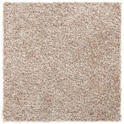 Residential Sandy Beige Peel and Stick 24 in. x 24 in. Carpet Tile (6 Tiles/Case)
