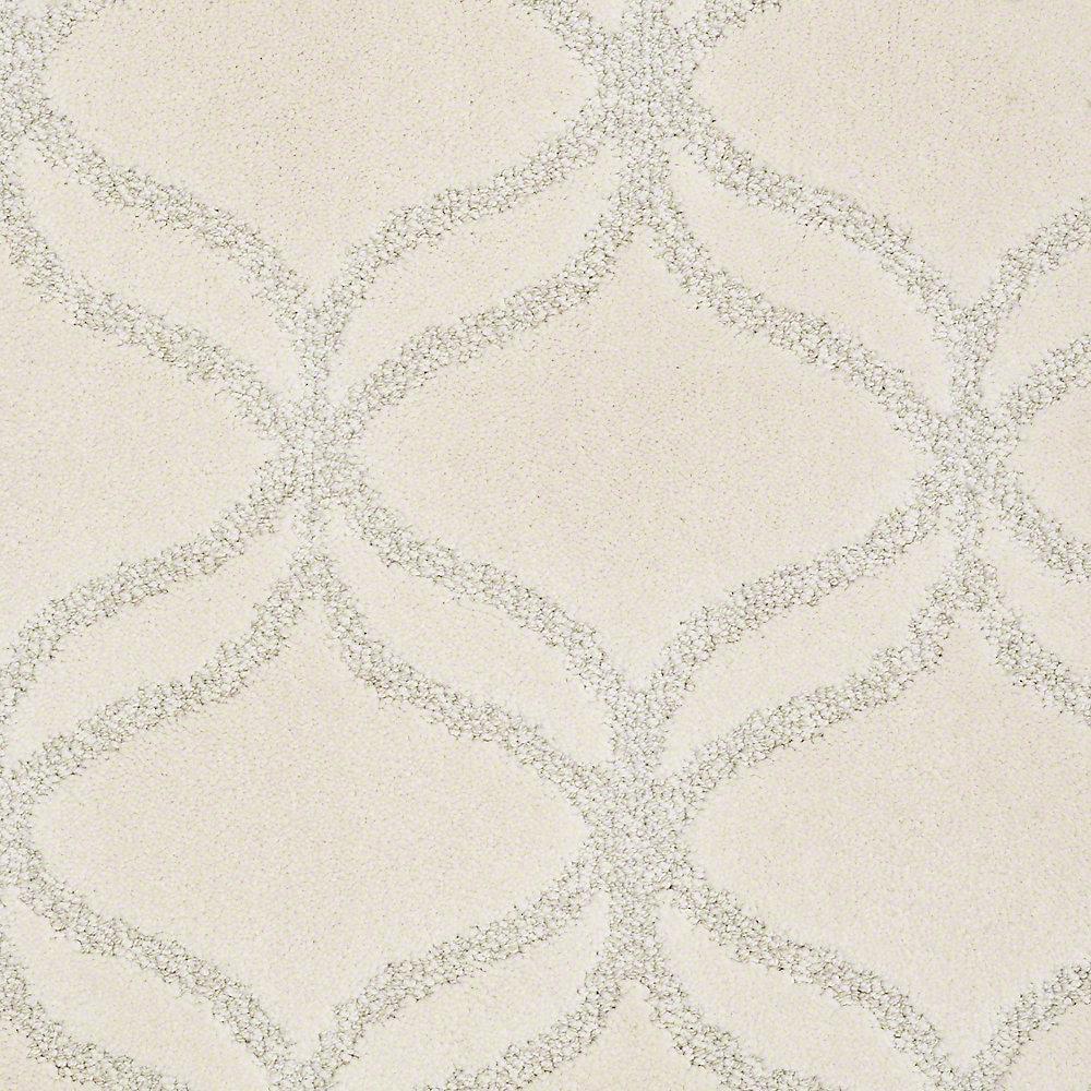 Platinum Plus Carpet Sample Kensington In Color Cauliflower 8 X