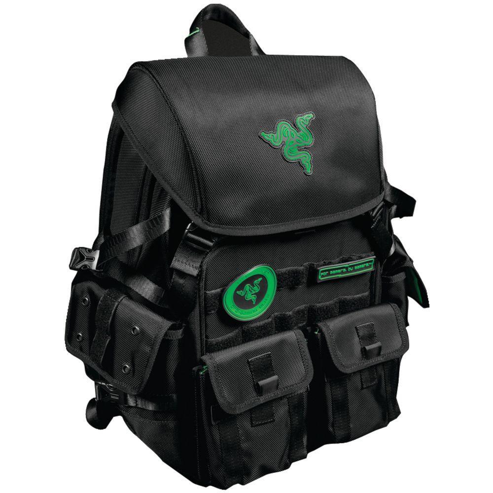 Mobile Edge 17 Razer Tactical Backpack, Black