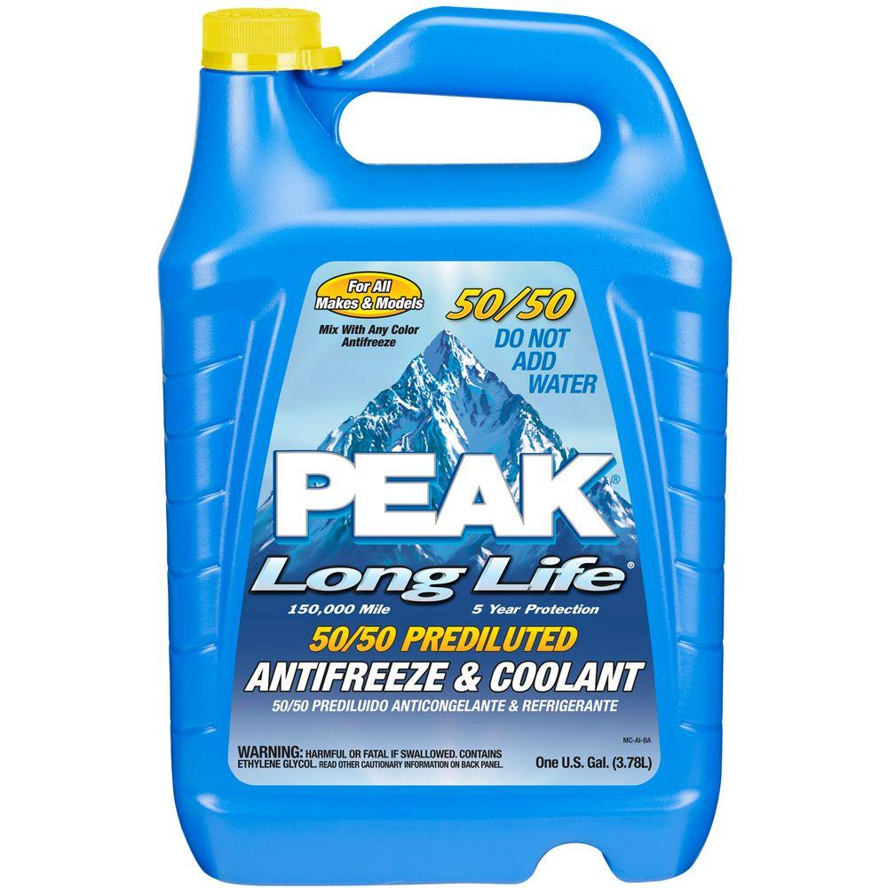 Peak 128 Fl  Oz  Long Life 50  50 Antifreeze And Coolant