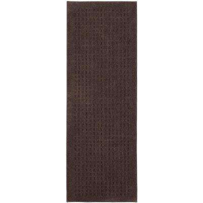 Vista Chocolate 2 ft. x 6 ft. Area Rug