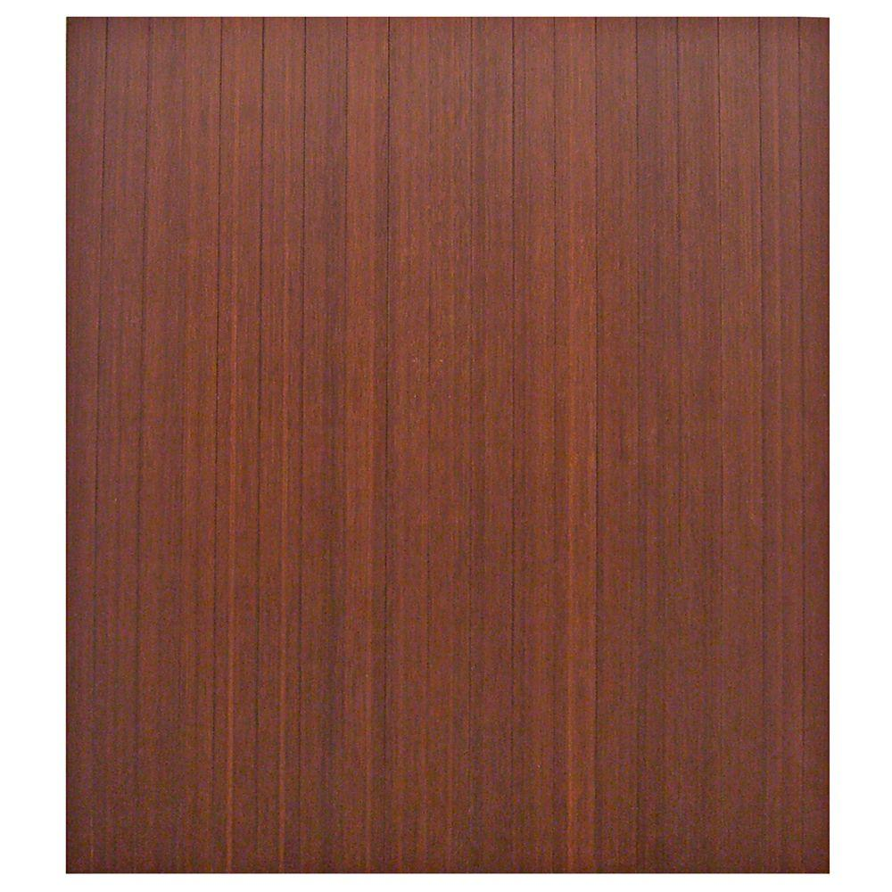Standard 5 mm Dark Brown Mahogany 42 in. x 48 in.