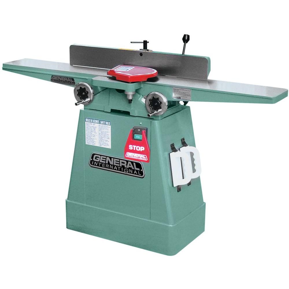 General International 13-Amp 6 in. Jointer with Extra Long Table