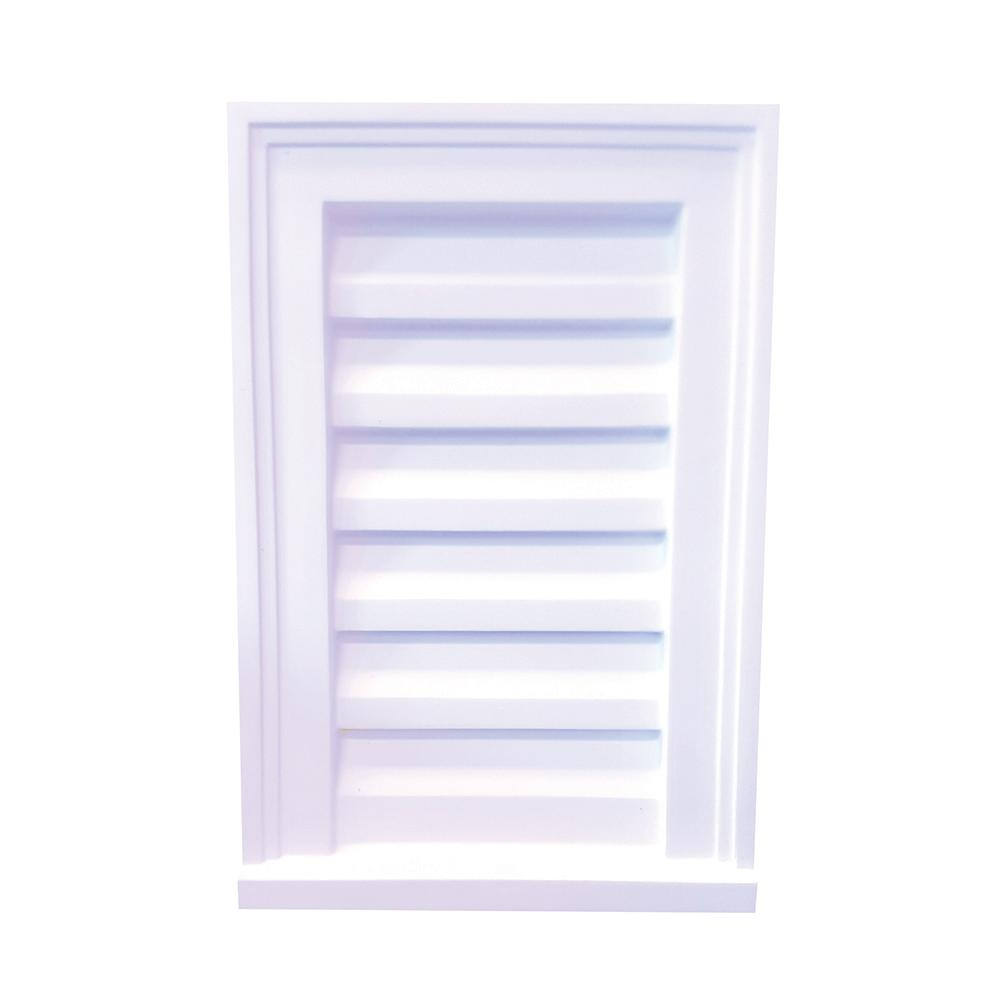 Focal point 12 in x 18 in x 2 1 2 in polyurethane for Decorative louvers